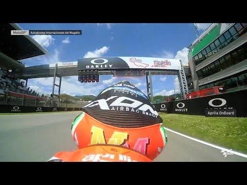OnBoard Aprilia RS-GP19 at Mugello! #ItalianGP
