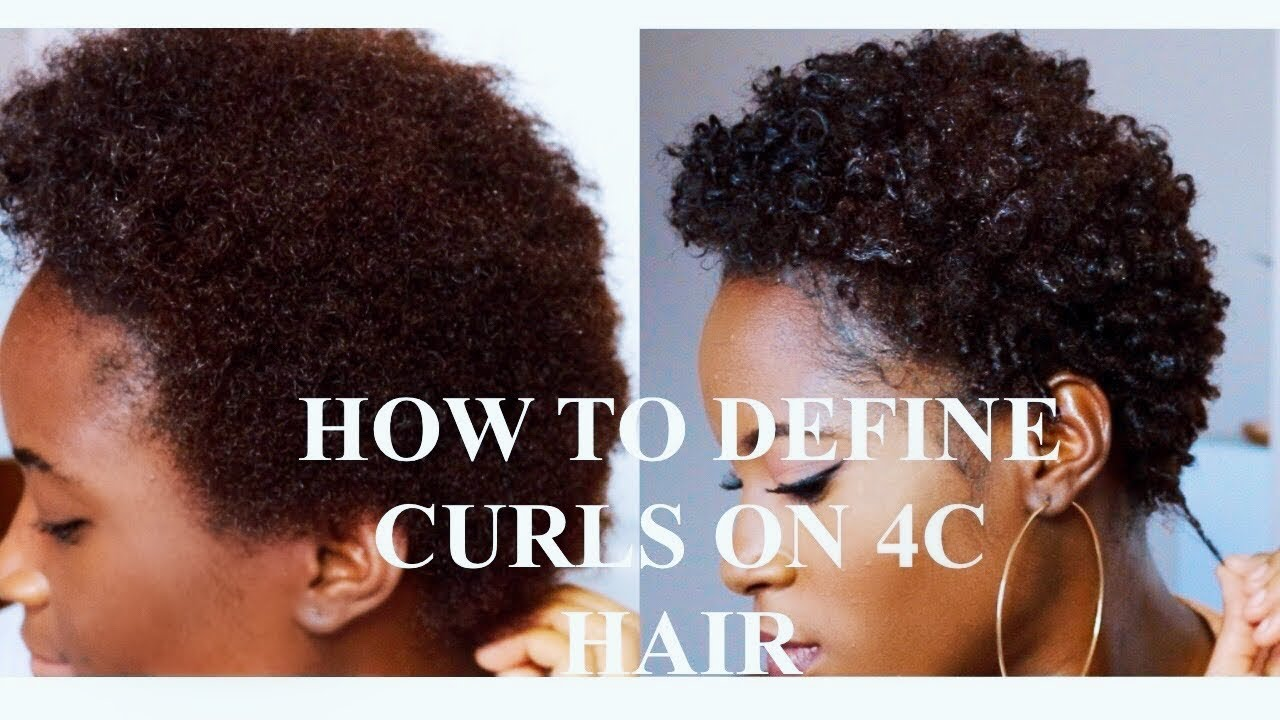 4c hair 4b curls natural define