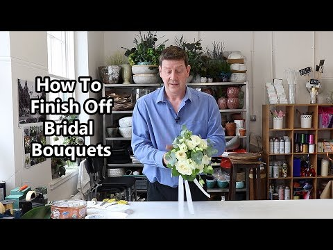 three-ways-to-finish-off-a-hand-tied-bridal-bouquet