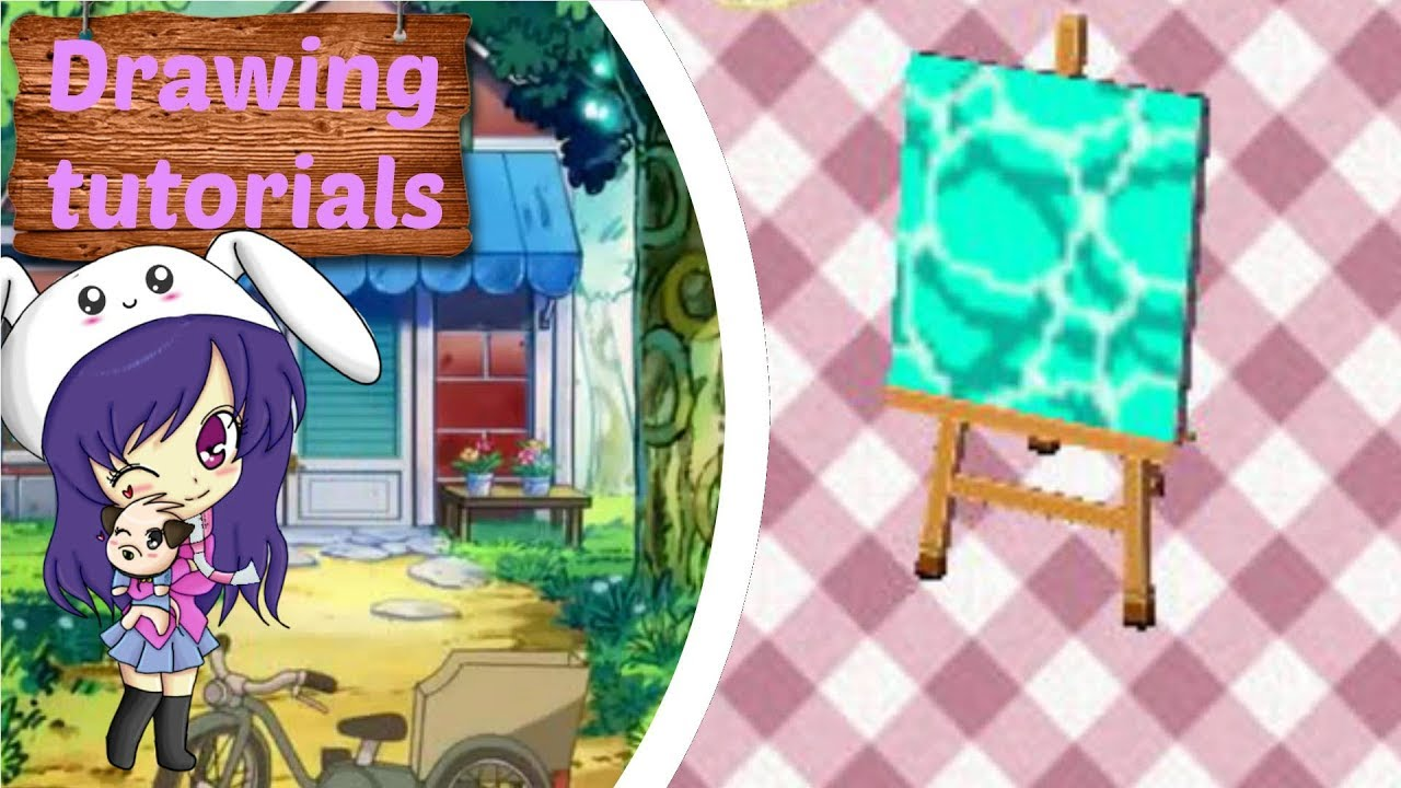 Drawing Tutorials Acnl Water Youtube