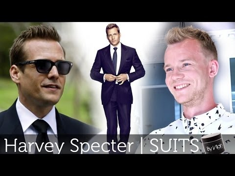 Harvey Specter form SUITS | Men's Hair Tutorial | By Vilain Silver Fox