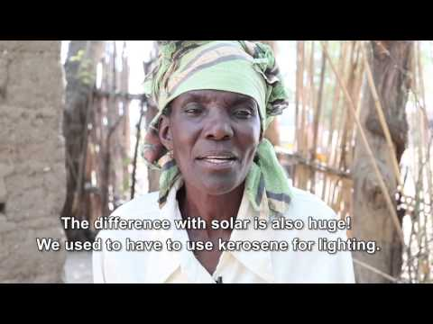 Energy Africa: Meet Elizabeth Mukwimba - one of the latest investors in solar technology