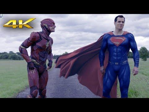 Race. Flash vs Superman | Justice League 4k SDR