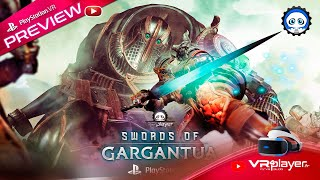 Swords Of Gargantua Preview de la version playStation VR PSVR VR4Player