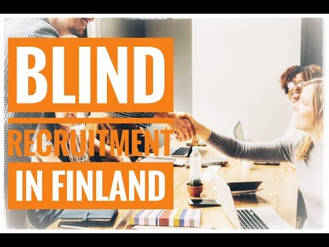 Finland's Feminist blind recruitment fail.