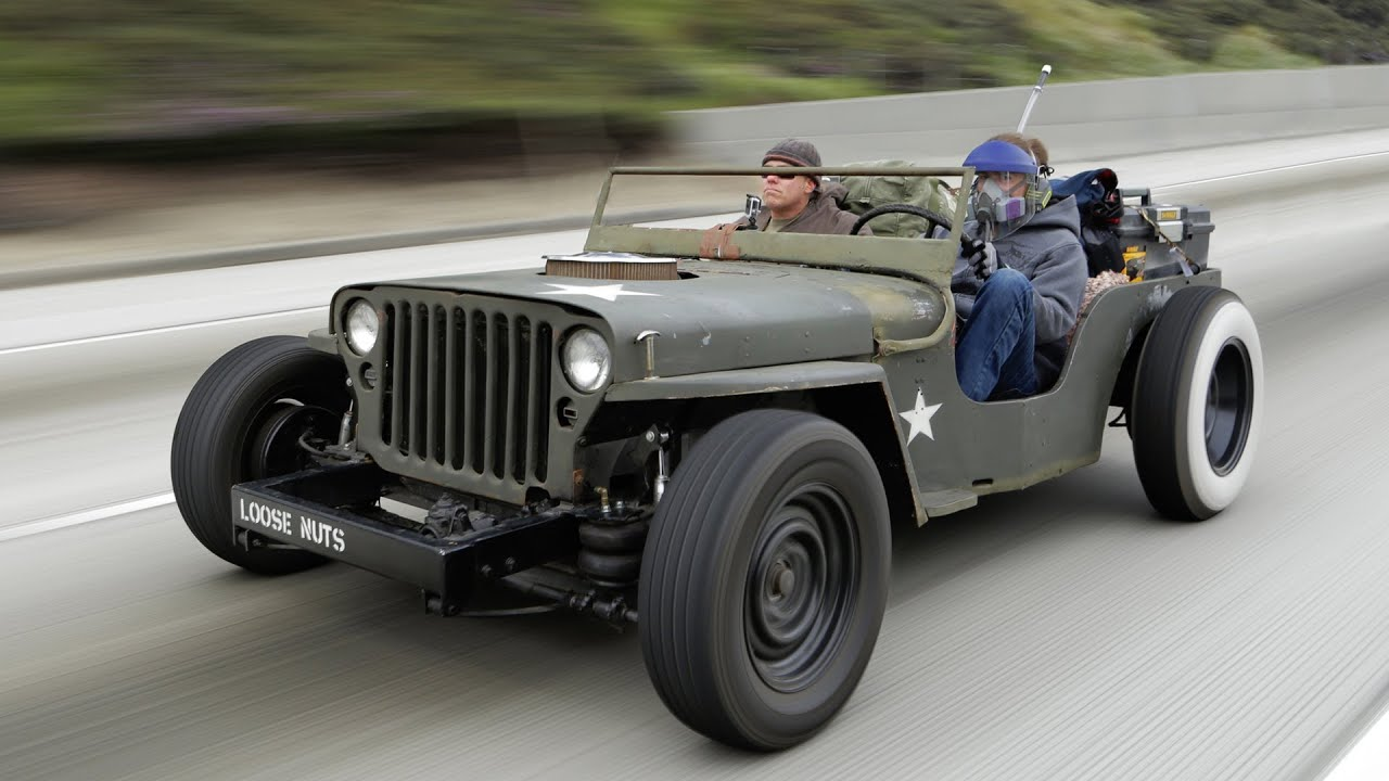 Rat Rod Jeep Death-Wish Trip! - Roadkill Episode 15 - YouTube
