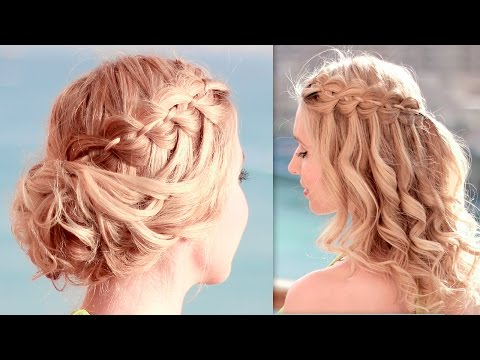 Updo Hairstyles for Christmas Holidays