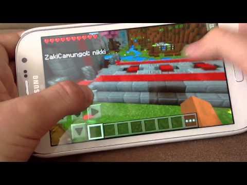 Minecraft pe Hunger games duyuruuuuuuuuu.