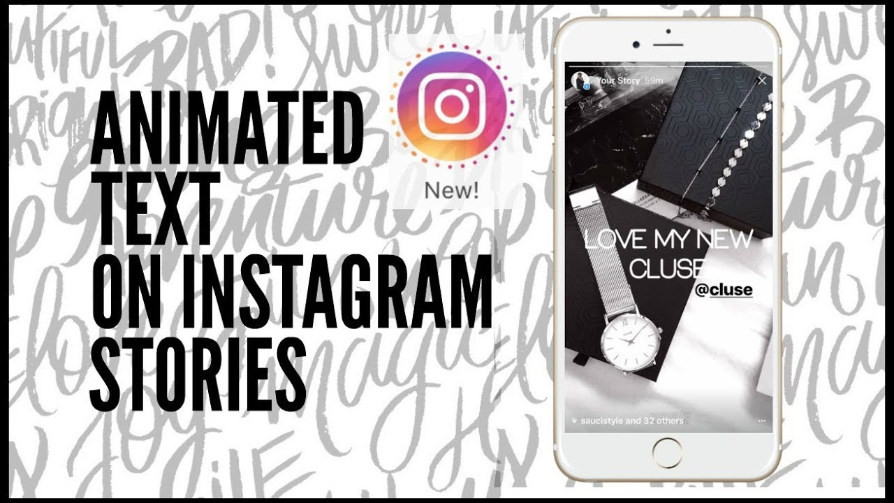 HOW TO GET ANIMATED TEXT ON INSTAGRAM STORIES