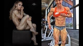 Самый низкий процент жира среди женщин| Eleonora Dobrinina 3%