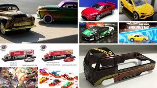 New 2019 Hot Wheels Super Treasure Hunt, M2 Machines ToyXpo models and more news ...