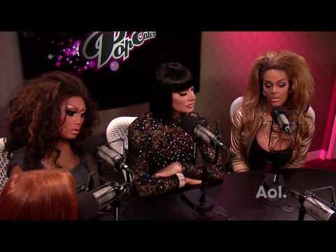 Jujubee, Raven & Tyra Sanchez of 'RuPaul's Drag Race' Visit PopEater Part 1