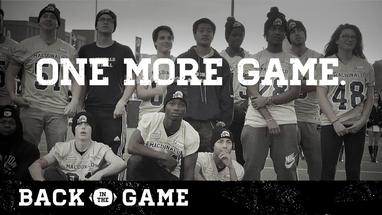 Nissan Canada presents Back in the Game | One More Game - YouTube