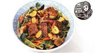 牛フィレ肉のフォアグラ丼  Beef filet  foie gras rice bowl【ラファエルクッキング Raphael cooking】