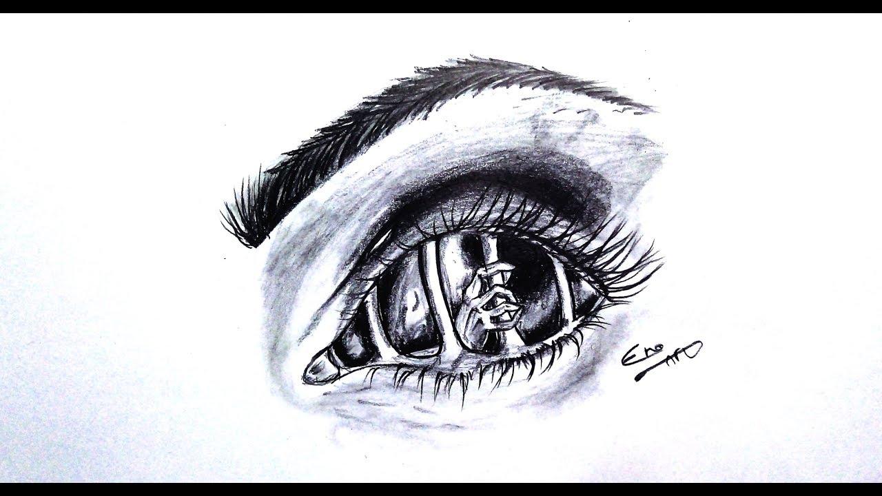 رسم سهل بالرصاص سلسلة الرسوم التعبيرية Easy Drawing Expressive