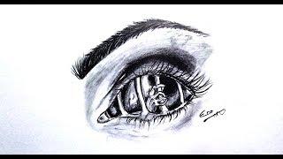 رسم سهل بالرصاص سلسلة الرسوم التعبيرية #Easy Drawing .. expressive drawings series # 22