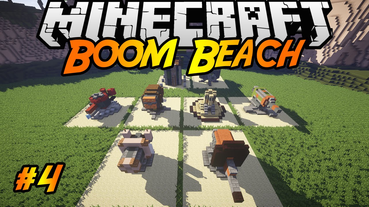 Boom beach in minecraft making of 4 mortar machine gun boom beach in minecraft making of 4 mortar machine gun rocket launcher shock launcher youtube publicscrutiny Gallery