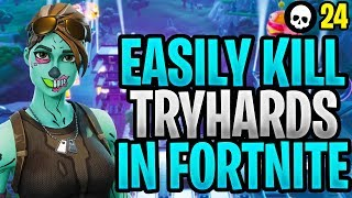 How To Outplay TRYHARDS In Fortnite! (How To Get Better At Fortnite - Tips & Tricks)