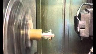 Campanella realizzata al tornio CNC