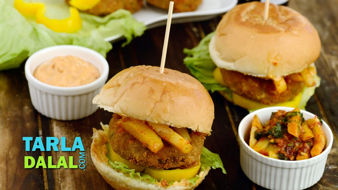 Chinese burger easy homemade burger recipe burger meal by tarla chinese burger easy homemade burger recipe burger meal by tarla dalal youtube forumfinder Image collections