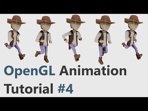 OpenGL Skeletal Animation Tutorial #4: Collada (.dae) Format