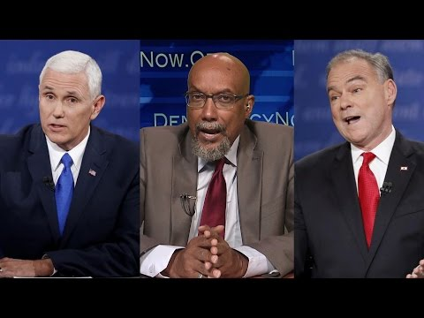 Special Expanded VP Debate with Pence, Kaine & Green Party Nominee Ajamu Baraka