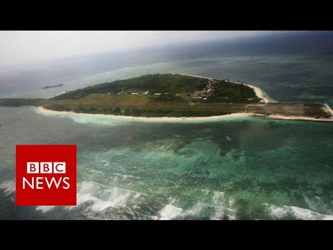 South China Sea: Island, rock or reef? BBC News