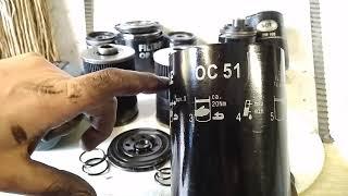 Пилим масляный фильтр. MAHLE OC51