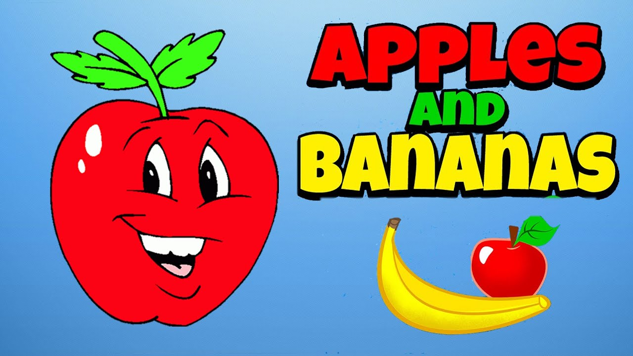 BARNEY - APPLES AND BANANAS LYRICS