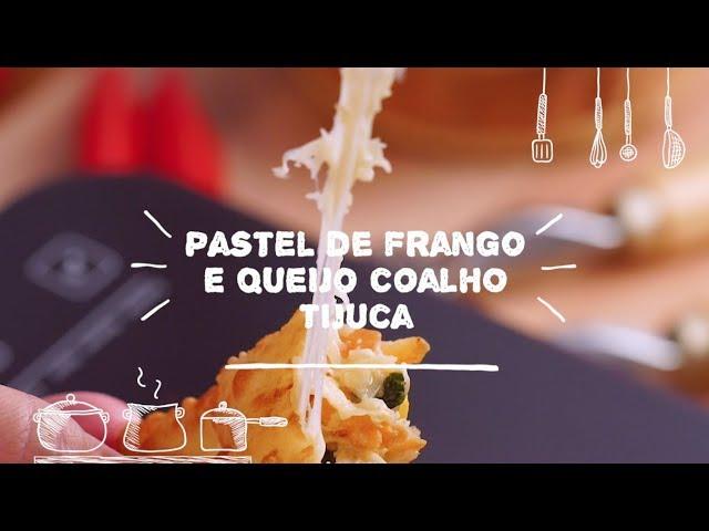 Pastel de Frango e Queijo Coalho - Sabor com Carinho (Tijuca Alimentos)