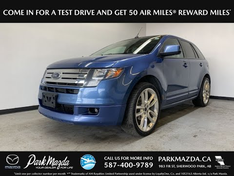 BLUE 2010 Ford Edge  Review   - Park Mazda