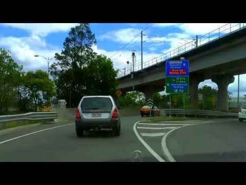 Brisbane Airport | the drive from airport to Brisbane