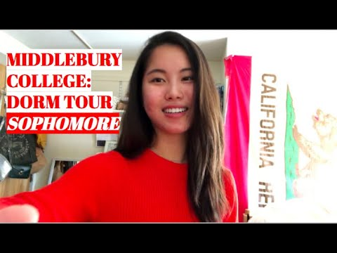 Middlebury College: DORM TOUR #2 (sophomore)