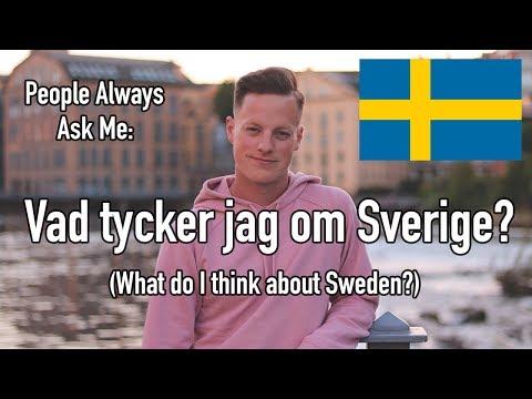 Vad tycker jag om Sverige? (English Subtitles)