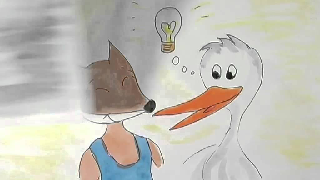 La volpe e la cicogna youtube