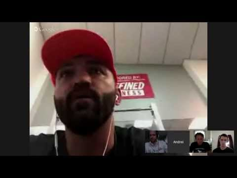 Live Video Chat with Andrei post #UFC187