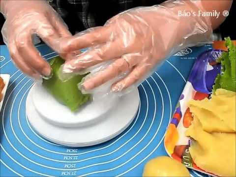 Cách Làm Bánh Trung Thu ( Bánh Nướng )