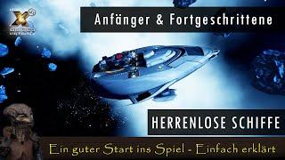 """Wir sammeln alle """"fixe"""" herumtreibende Schiffe im Spiel ein und schaffen uns die Grundlage für einen entspannten Spielstart. https://X4.My-Promotion.at ..."""