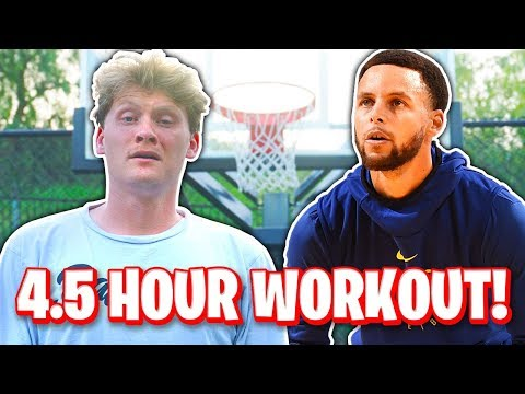 TRYING STEPHEN CURRY'S DAILY ROUTINE!
