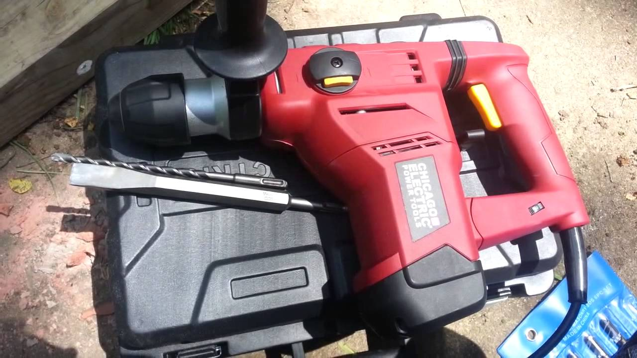 harbor freight hammer drill. harbor freight hammer drills drill youtube