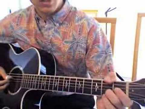 Hawaii Guitar Lesson 1 - vamp in G
