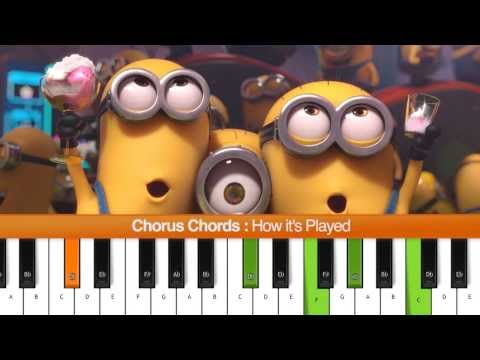 how to play happy pharrell williams on keyboard