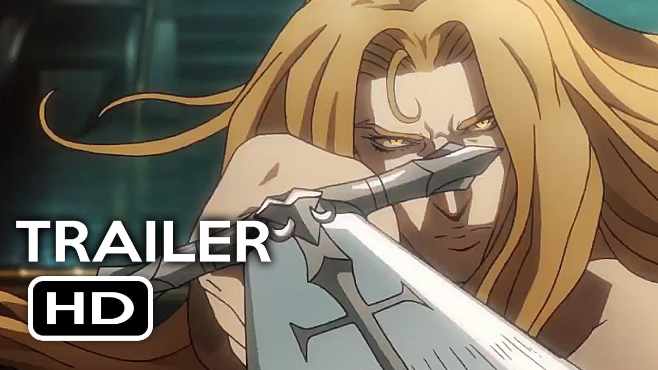 Castlevania Official Trailer 1 2017 Animated Netflix TV Series HD
