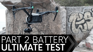 DJI Inspire 2 Battery Test Episode 2