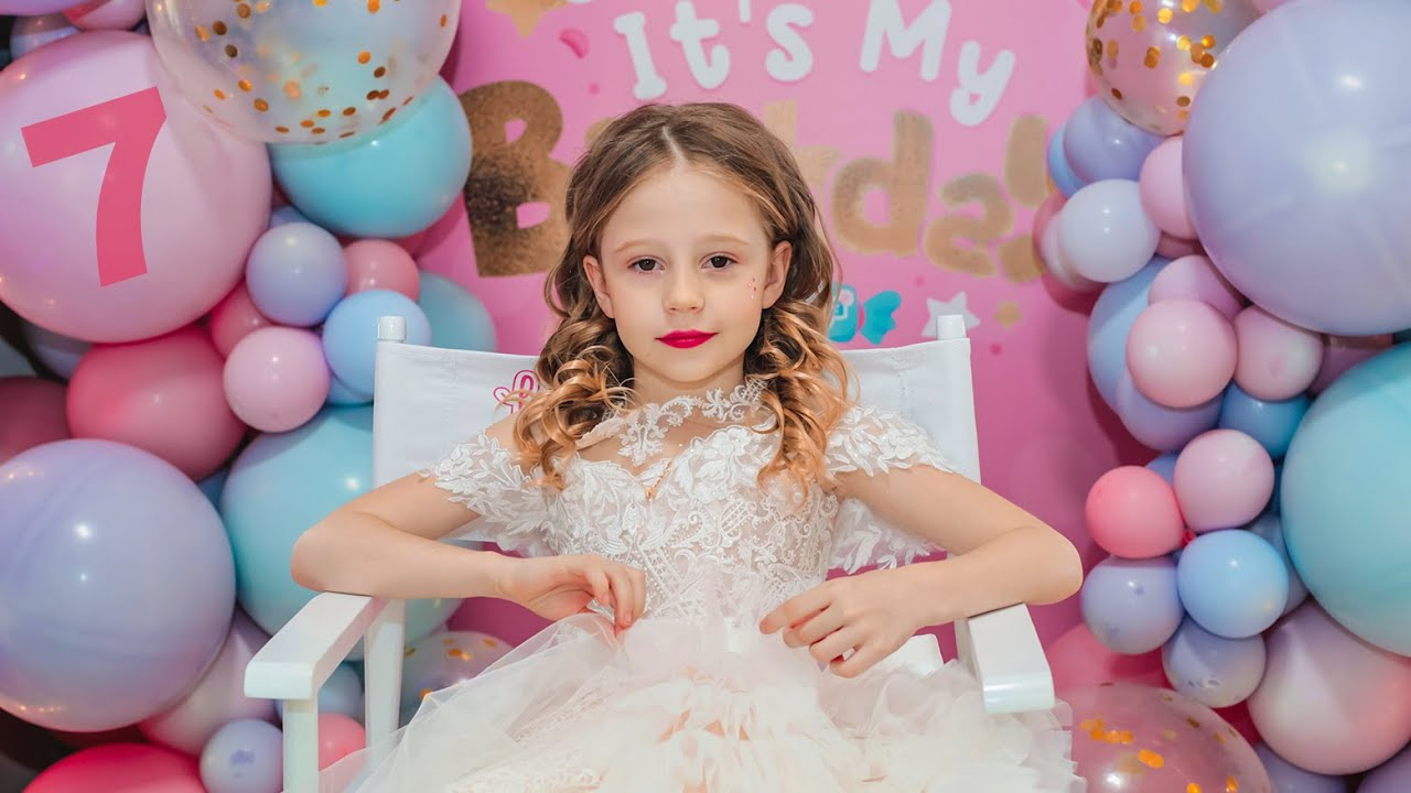 Nastya And Her Birthday Party 7 Years Old Youtube