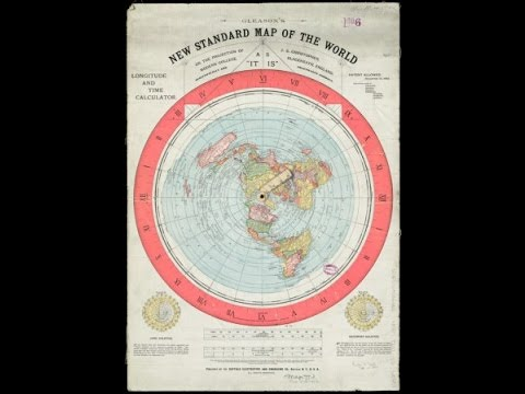 Flat Earth - Navigation via AZ Map (Gleason 1892) Scientifically Correct AS it IS