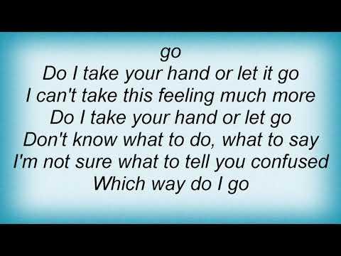 Usher - Take Your Hand Lyrics