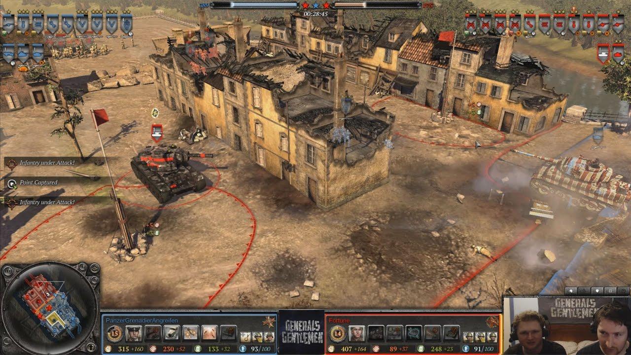 [Coh2] Fortune(Soviets) vs PanzerGrenadier(Wehrmacht)