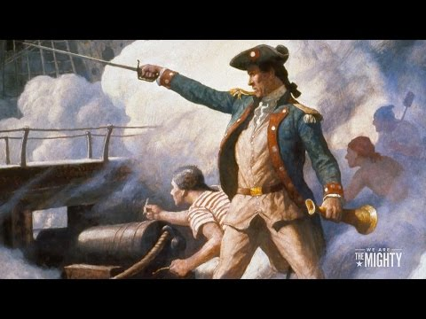 Today in Military History: 4/10 - John Paul Jones sets sail