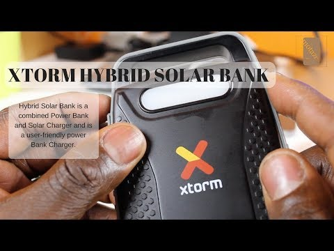 Xtorm Hybrid Solar Power Bank